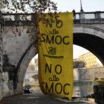 Blitz NO ALLO SMOG di Legambiente a Roma, il 2015 con aria peggiore degli ultimi 4 anni