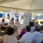 Goletta dei Laghi di Legambiente sul Lago di Bracciano presenta il dossier CAPTAZIONI E ABBASSAMENTO DEI LAGHI NEL LAZIO