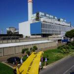Blitz di Legambiente a Civitavecchia contro la centrale a carbone e la sua riconversione a gas