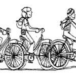 In bici e in maschera continuano iniziative di Legambiente contro lo smog