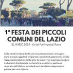 Prima Festa dei Piccoli Comuni del Lazio