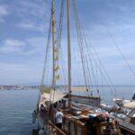 Goletta Verde lascia il porto di Anzio