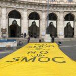 """Flash Mob(ility) """"No allo Smog"""" in Piazza della Repubblica nel giorno dell'arrivo del Treno Verde"""